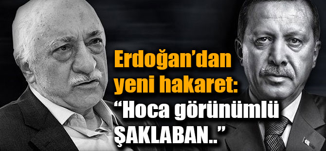 Konya'da Konuşan Cumhurbaşkanı Erdoğan Fethullah Gülen'e Yüklendi.
