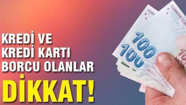 Kredi Borcu Olan 3.7 Milyon Kişi Dikkat !