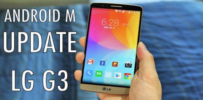 LG G3 Android 6.0 Marshmallow (Custom ROM)