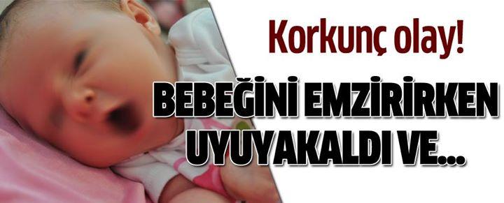 1 Aylık Bebek Kocaeli'nde Boğularak Can Verdi !