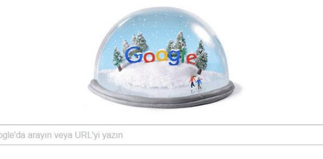 Google'dan Kış Gündönümü İçin Doodle