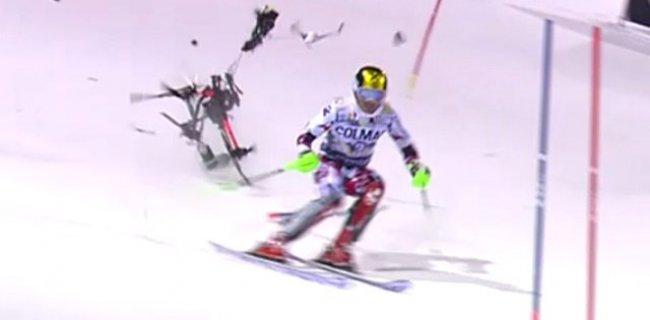 Şampiyon Kayakçı Hirscher, Kazadan Son Anda Kurtuldu