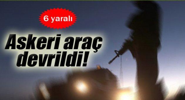 Şanlıurfa'da Askeri Araç Devrildi: 6 Yaralı !