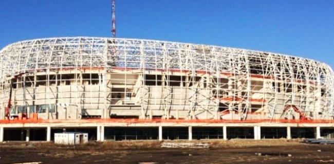 Yeni Stadının Yüzde 70'i Tamamlandı