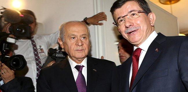 Bahçeli, Davutoğlu'nun Randevu Talebini Kabul Etti