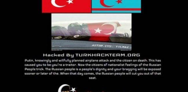 Türk Hackerlardan Rusya'ya Büyük Darbe!