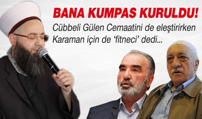 Cübbeli Ahmet Hoca'dan Cemaate ve Hayrettin Karaman'a Eleştiri !