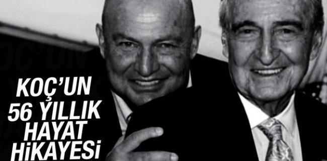 Ünlü iş adamı Mustafa Koç'un 56 yıllık hayat hikayesi