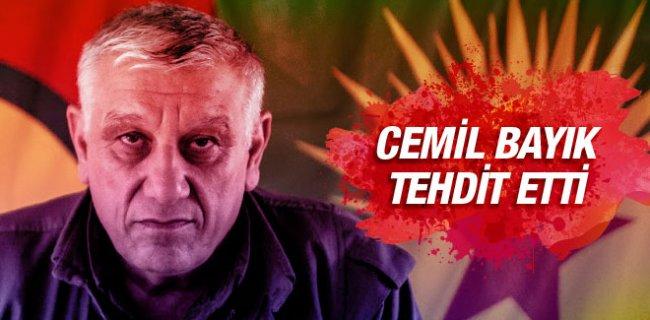 Cemil Bayık'tan Türkiye'ye Tehdit!