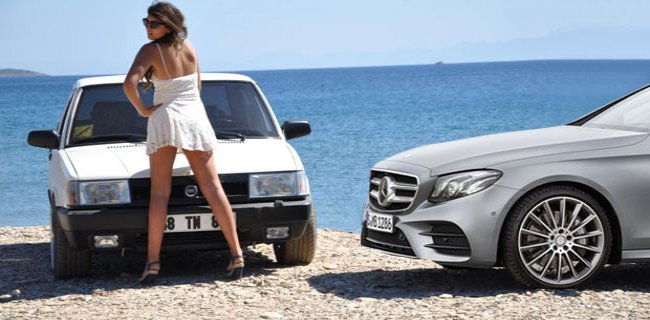 Mercedes ile Şahin Aynı Oldu