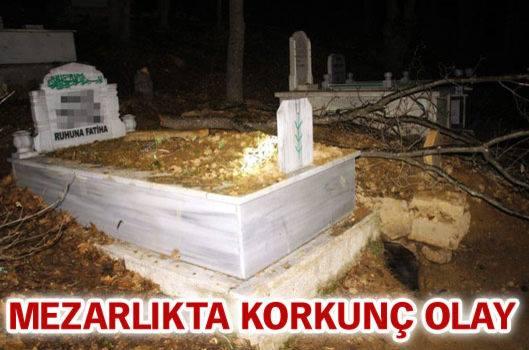 Mezarlıkta Yaşanan Korkunç Olay!