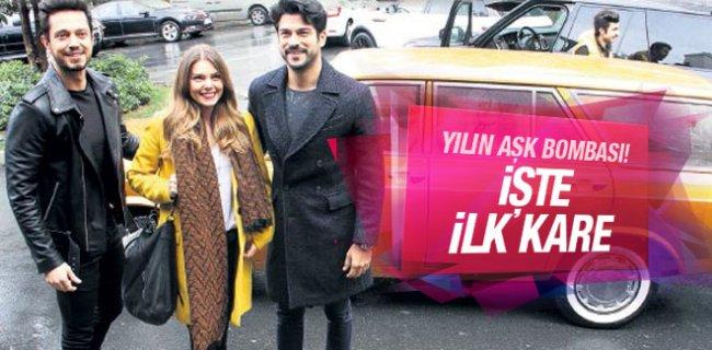 Yılın Aşk Bombası! İşte Murat Boz'dan İlk Kare