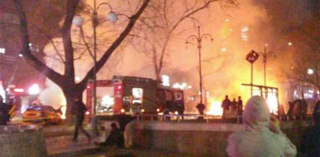 Ankara'da Büyük Patlama!