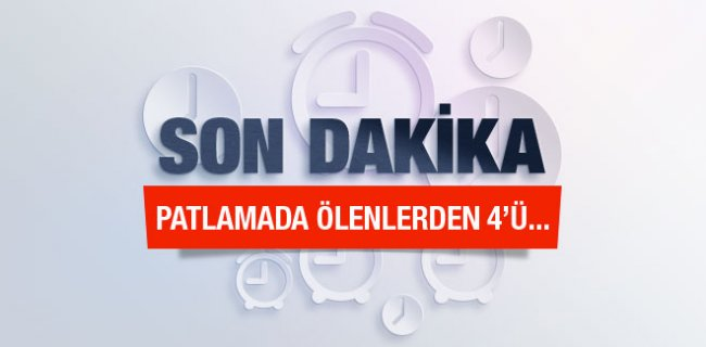 İstanbul Patlaması Ölenlerin Kimlikleri Açıklandı