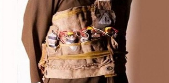 TSK: Canlı Bomba Yakalandı