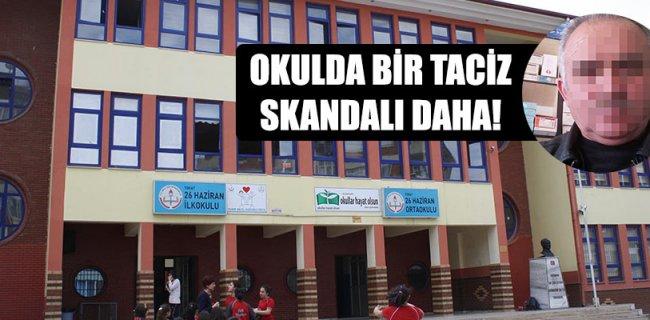 Tokat'ta Okulda Bir Taciz Skandalı Daha!