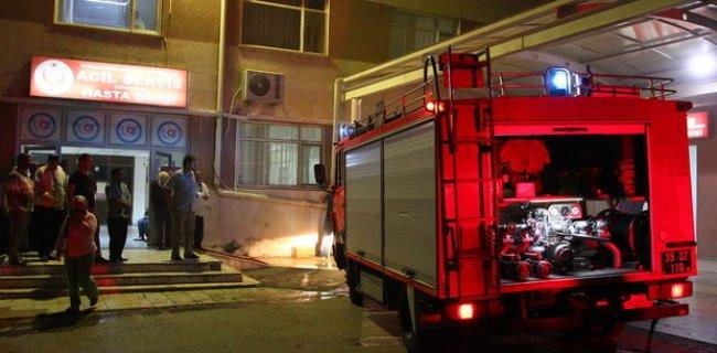 Kırklareli Devlet Hastanesinde Yangın