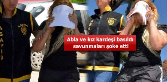 Adana'da Abla ile Kız Kardeşi Fuhuş Yaparken Yakalandı