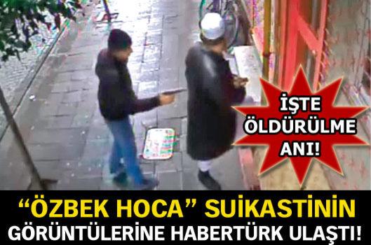 Özbek Hoca'nın Öldürüldüğü Görüntüler Ortaya Çıktı !