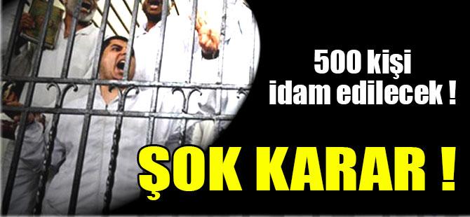 500 Kişi İdam Edilecek ! Pakistan'da Korkunç İnfaz !