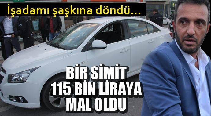 """Simit Ona Pahalıya Patladı """"115 Bin TL"""""""