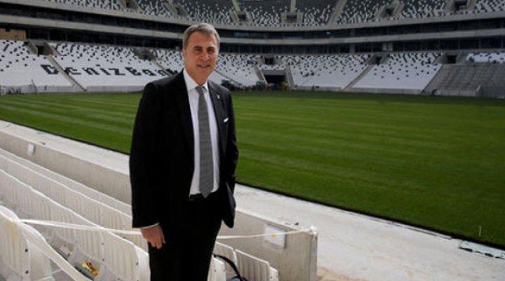 Başkan Vodafone Arena'nın Yeni İsmini Açıkladı