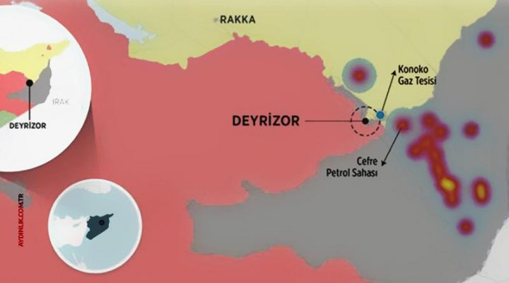 PKK/PYD Suriye Petrolüne Saldırıyor