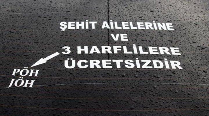 Bu Taksici Onlardan Para Almıyor! 'Üç Harflilerden...'