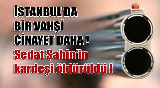 Sedat Şahin'in Kardeşi Silahlı Saldırı Sonucu Hayatını Kaybetti