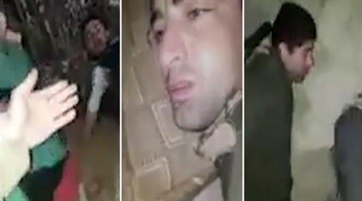 4 PKK'lı Yataklarından Böyle Alındı