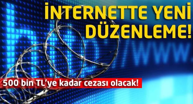 Dikkat!: İnternete Yeni Düzenleme Geliyor !