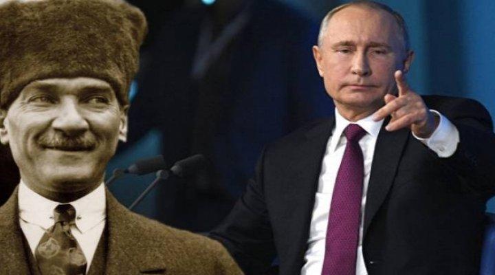Putin'den Çok Konuşulacak Atatürk Yorumu: Bizim İçin Çok Değerli