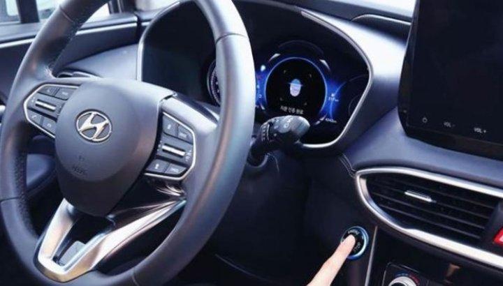 Hyundai otomobillerde araba anahtarı yerini parmak izine bıraktı