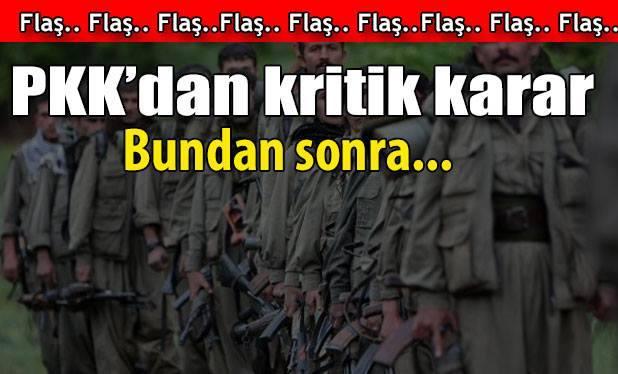 PKK Önemli Kararlar Aldı !