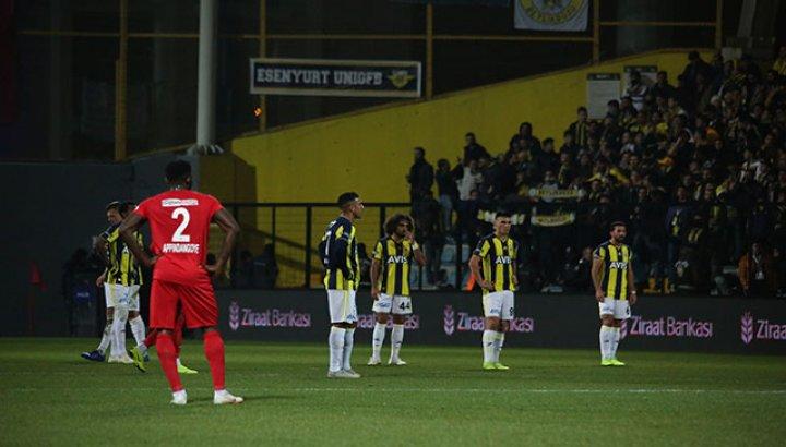 Fenerbahçe'ye kupada Ümraniye şoku