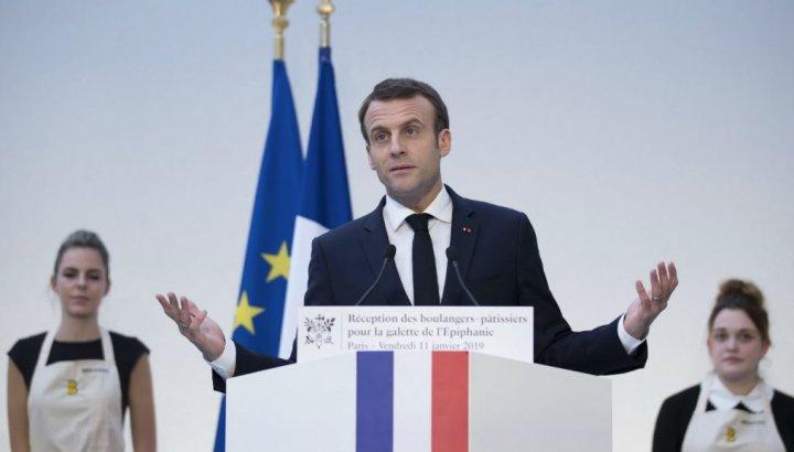Macron'dan 'Suriye'den çekilme' açıklaması