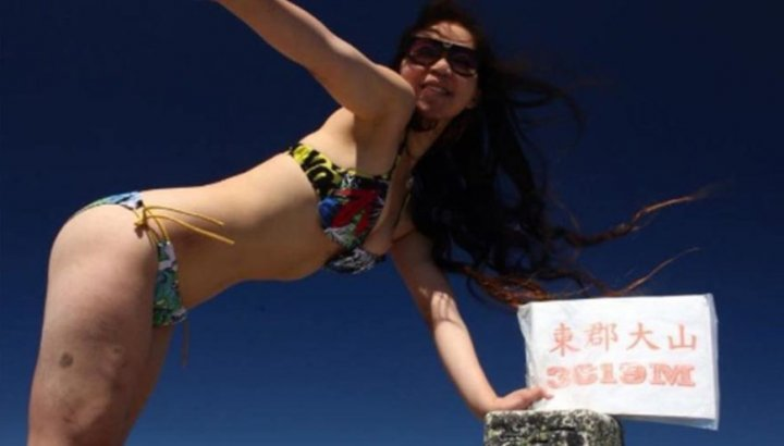 Bikinili dağcının feci sonu! 28 saat sonra ulaşabildiler