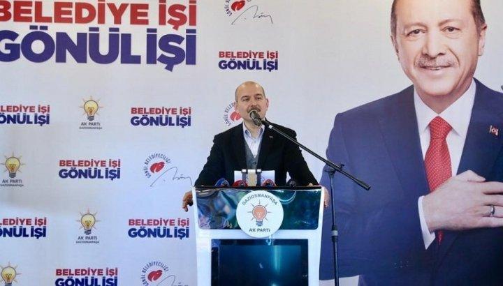 Soylu: Ne olursunuz İBB'ye HDP'yi, PKK'yı musallat etmeyin