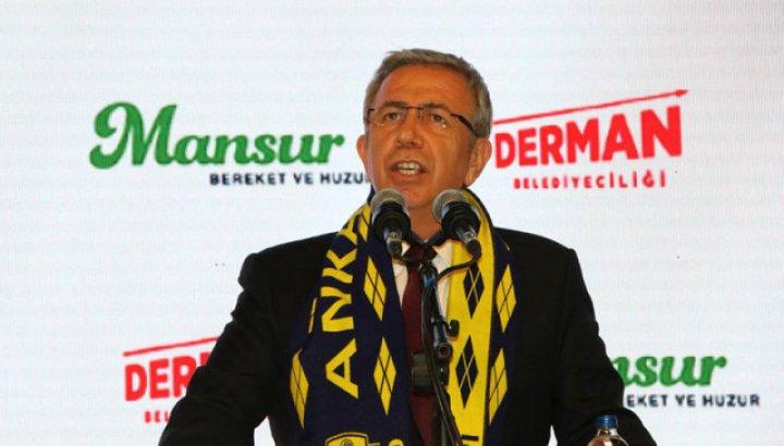 Mansur Yavaş hafriyat gelirlerini Osmanlıspor'dan geri aldı