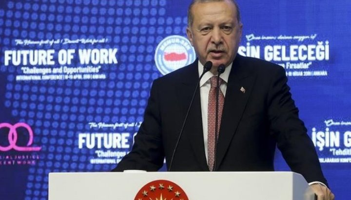 """Erdoğan: """"Suriyelileri yedirmeye, içermeye devam edeceğiz"""""""
