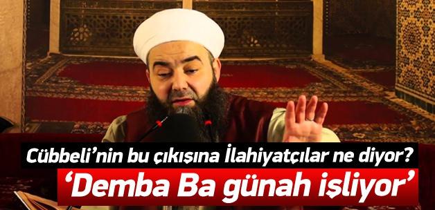 """Cübbeli Ahmet Hoca: """"Demba BA Günah İşliyor !"""""""