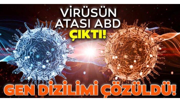 Coronavirüsün gen dizilimi çözüldü: Virüsün atası ABD çıktı...