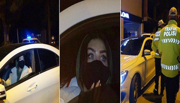 Kısıtlamada Otomobille Gezen 3 Suriyeli Kadına 3 bin 150'şer Lira Ceza