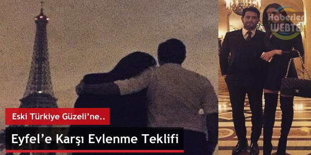 Eyfel Kulesine Karşı Evlenme Teklifi (Eski Türkiye Güzeline)