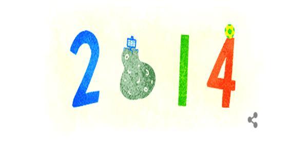 2014'de Google'da En Çok Aratılanlar Doodle Oldu