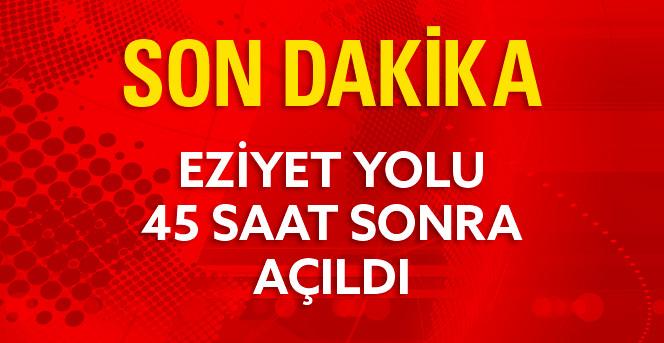 Kar Yüzünden Kapanan Balıkesir - İzmir Yolu 45 Saat Sonra Açıldı