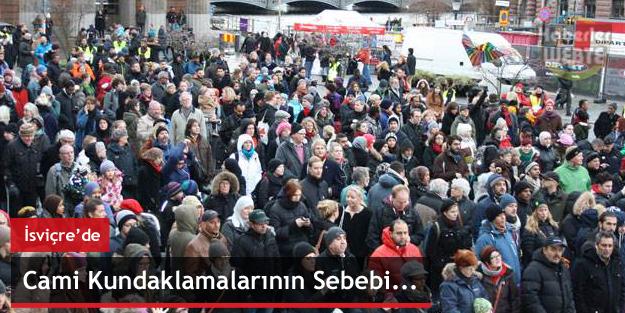 İsveç'te cami kundaklamalarının nedeni Filistin !