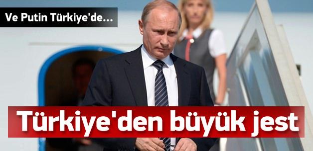 Rusya Devlet Başkanı Vladimir Putin Türkiye'de