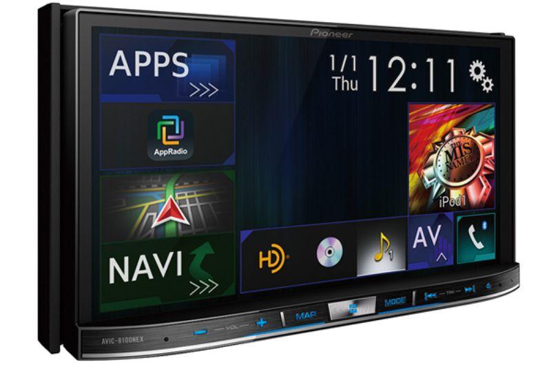 Pioneer'den CarPlay ve Android Auto Destekli Yeni Eğlence Sistemleri