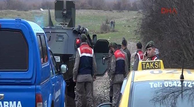 Amasya'da Savaş Uçağı Düştü!